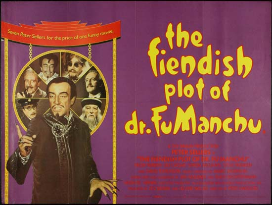 Fiendish Plot of Dr Fu Manchu, The UK Quad