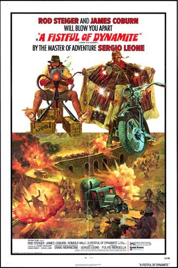 Fistful of Dynamite, A [ Duck You Sucker ] [ Giu la Testa ] US One Sheet movie poster