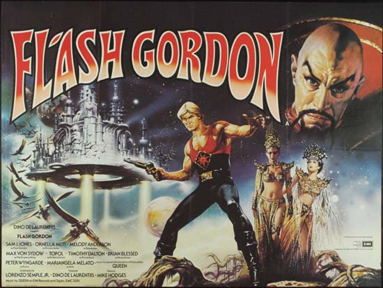 Flash Gordon UK Quad