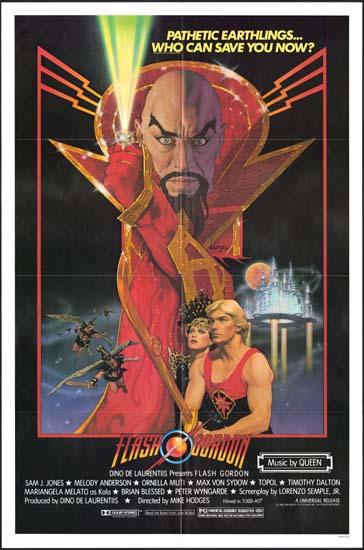 Flash Gordon US One Sheet movie poster