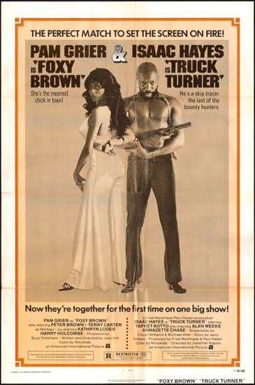 Foxy Brown / Truck Turner US One Sheet movie poster