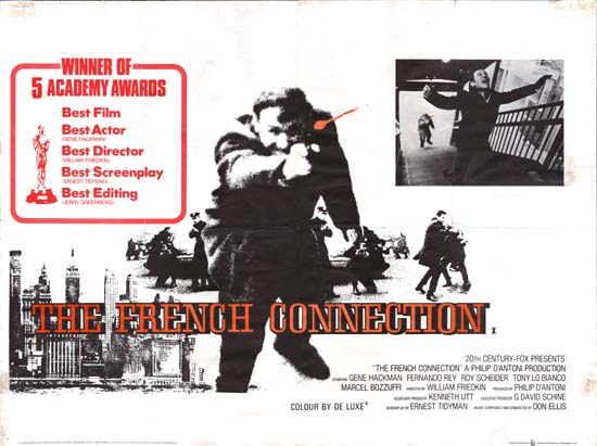 French Connection, The UK Quad movie poster