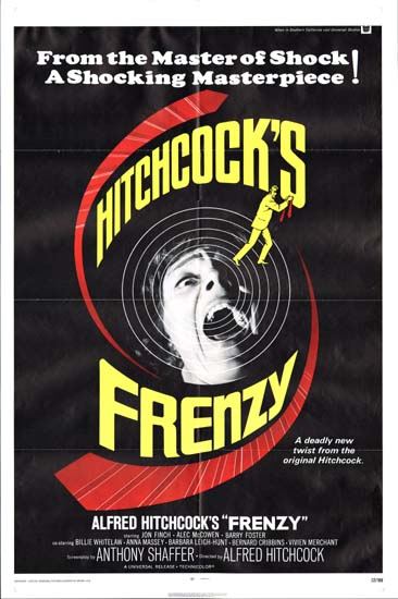 Frenzy US One Sheet movie poster