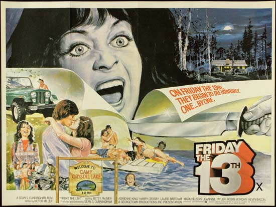 Friday the 13th UK Quad