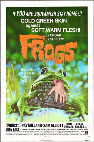 Frogs US One Sheet movie poster