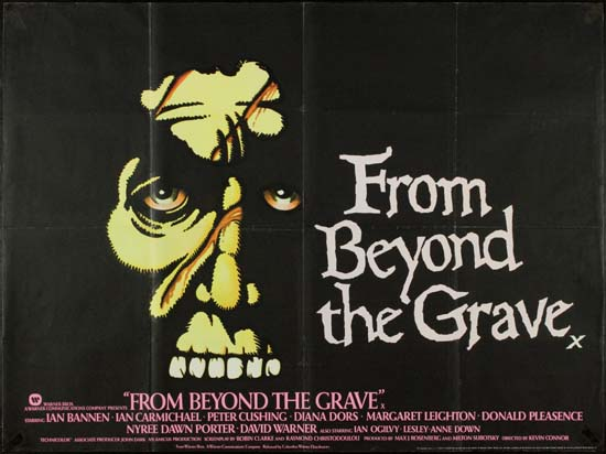From Beyond The Grave UK Quad movie poster