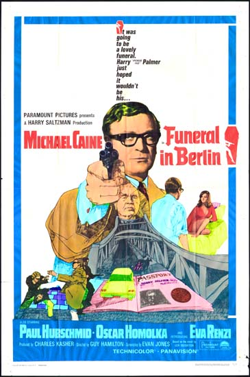 Funeral in Berlin US One Sheet movie poster