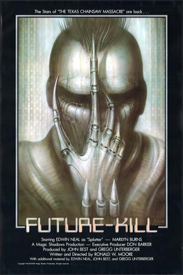 FutureKill US One Sheet movie poster