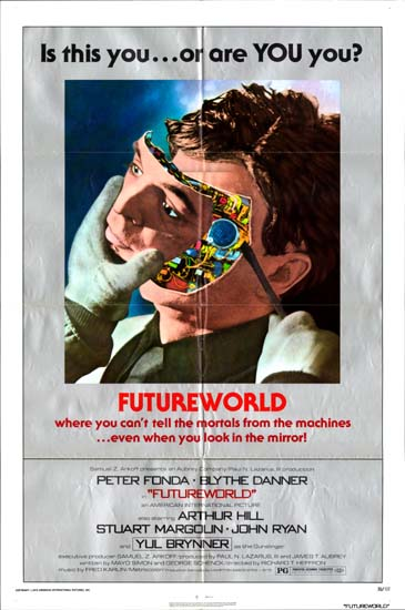 Futureworld US One Sheet movie poster