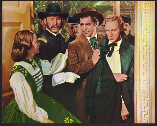 Gone With The Wind US Jumbo Lobby Card