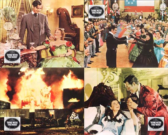 Image 2 of Gone With The Wind US Mini Lobby Card Set of 10