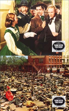 Image 3 of Gone With The Wind US Mini Lobby Card Set of 10
