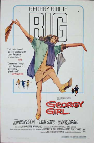Georgy Girl US One Sheet movie poster