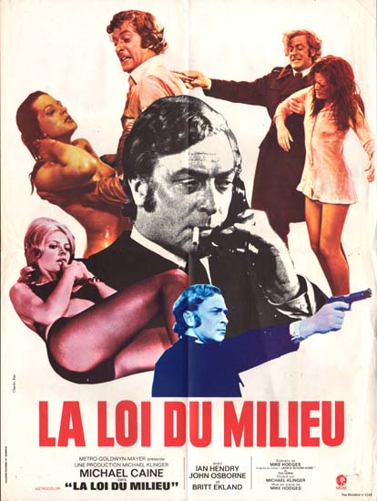 Get Carter French movie poster