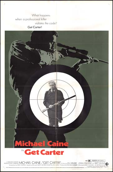 Get Carter US One Sheet style A movie poster