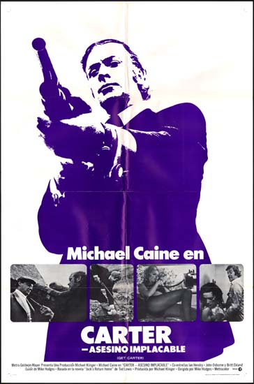 Get Carter US One Sheet spanish language movie poster