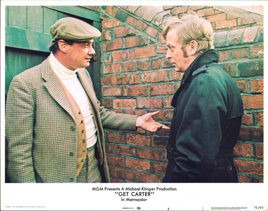 Get Carter US Lobby Card number 3