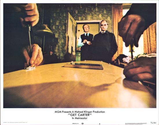 Get Carter US Lobby Card number 4