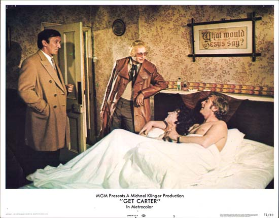 Get Carter US Lobby Card number 5