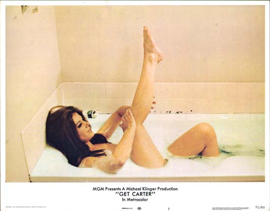 Get Carter US Lobby Card number 7