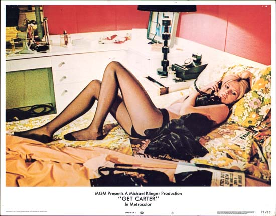 Get Carter US Lobby Card number 8