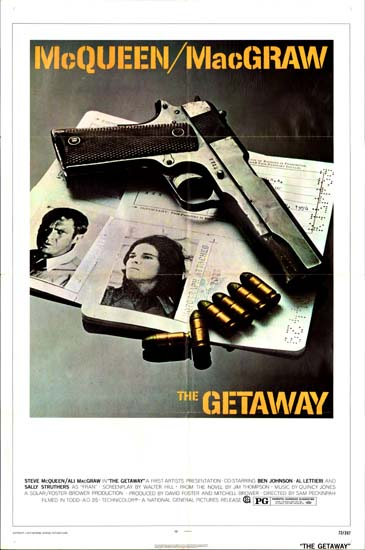Getaway, The US One Sheet movie poster