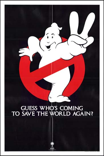 Ghostbusters II [ Ghostbusters 2 ] US One Sheet teaser movie poster