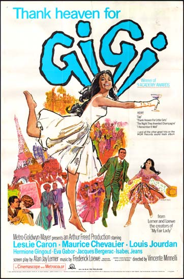 Gigi US One Sheet movie poster