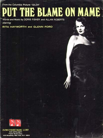 Gilda US Sheet Music