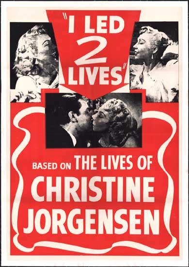 Glen or Glenda [ I Led 2 Lives ] US One Sheet movie poster