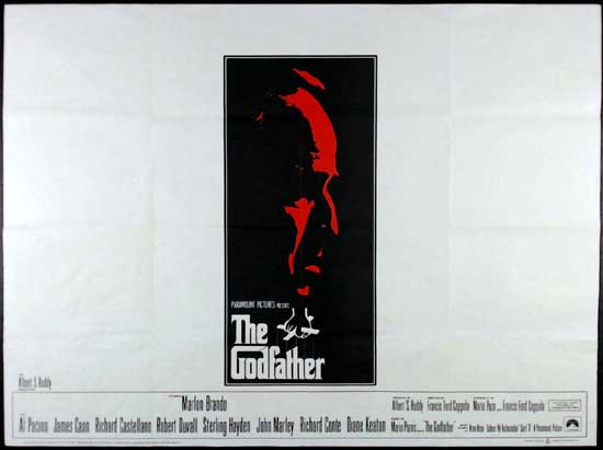 Godfather, The UK Quad movie poster