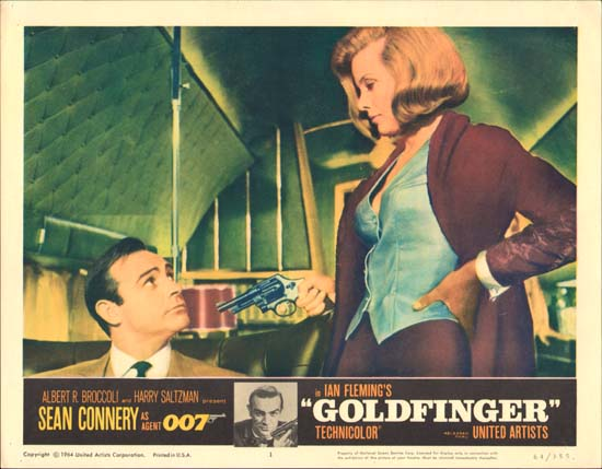 Goldfinger US Lobby Card number 1