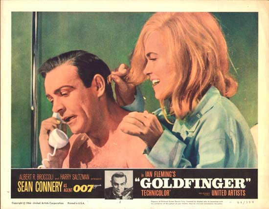 Goldfinger US Lobby Card number 2