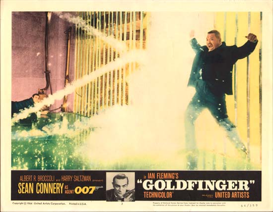 Goldfinger US Lobby Card number 3