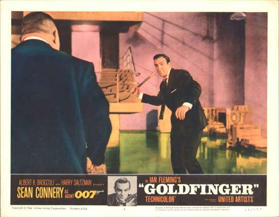 Goldfinger US Lobby Card number 4