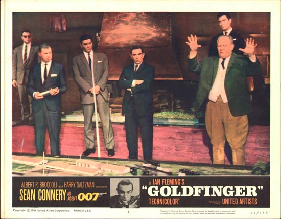 Goldfinger US Lobby Card number 6