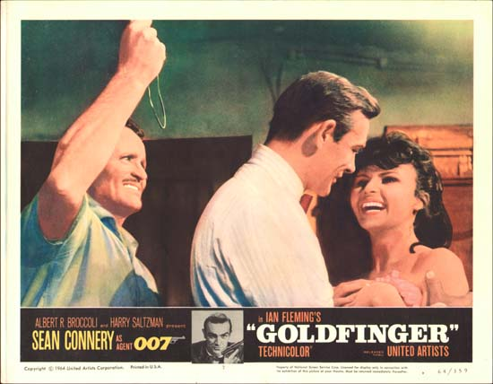 Goldfinger US Lobby Card number 7