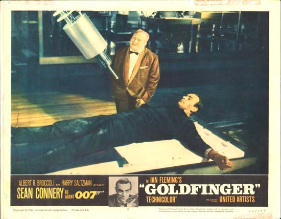 Goldfinger US Lobby Card number 8
