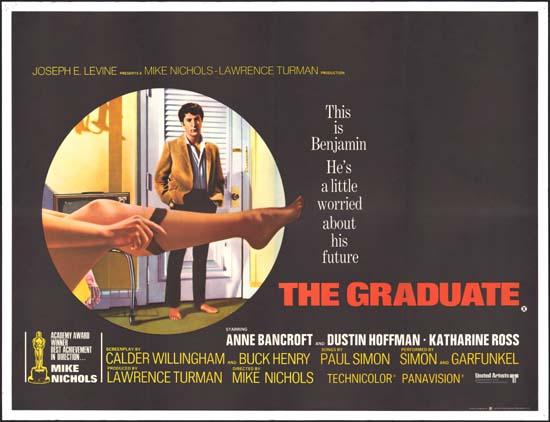 Graduate, The UK Quad movie poster