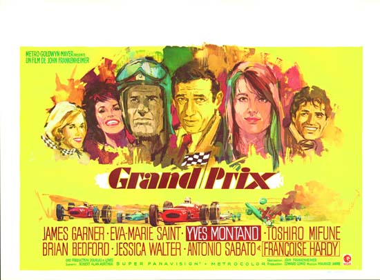Grand Prix Belgian movie poster
