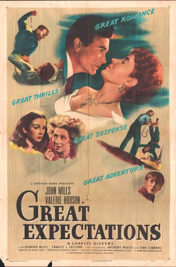 Great Expectations US One Sheet movie poster