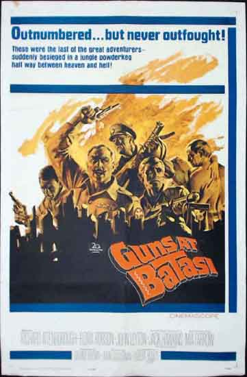 Guns at Batasi US One Sheet movie poster