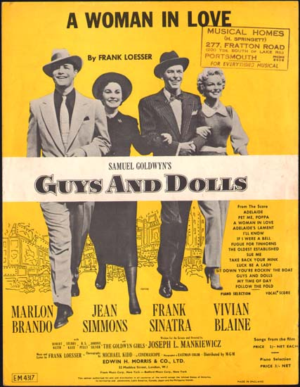 Guys and Dolls UK Sheet Music