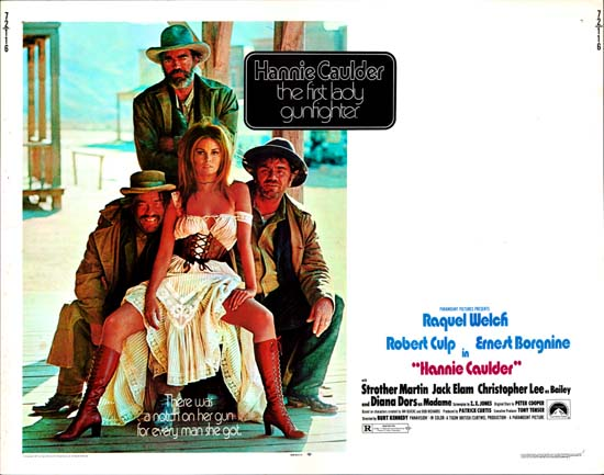 Hannie Caulder US Half Sheet movie poster