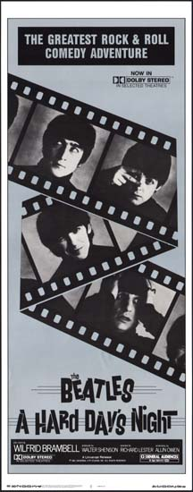 Hard Days Night, A US Insert movie poster