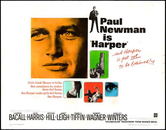 Harper US Half Sheet movie poster