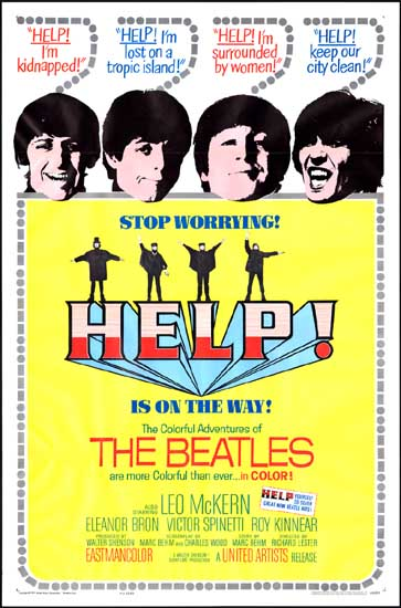 Help! US One Sheet movie poster