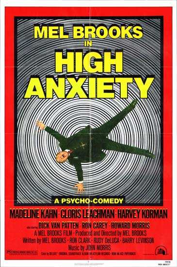 High Anxiety US One Sheet movie poster