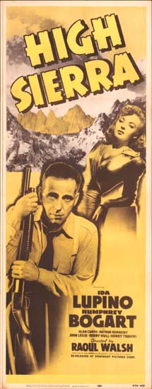 High Sierra US Insert movie poster