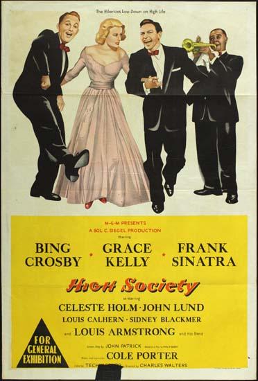 High Society Australian One Sheet movie poster